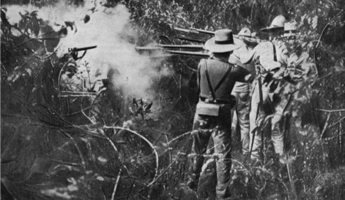 the role of the philippines in the spanish american war The spanish-american war this war was a pretext for the philippines war the american press played a major role in leading the united states into a war.