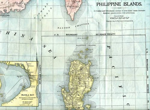 Battle Of Manila Bay PhilippineAmerican War - Us to hong kong map