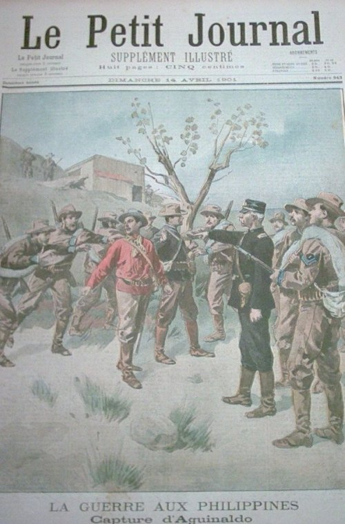 capture of president emilio aguinaldo Revolutionary fighter emilio aguinaldo rose to prominence during this struggle and was elected president of the rebel government in philippine-american war, 1899.