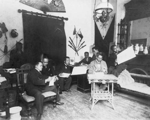 Officials in Aguinaldo's government, 1898.
